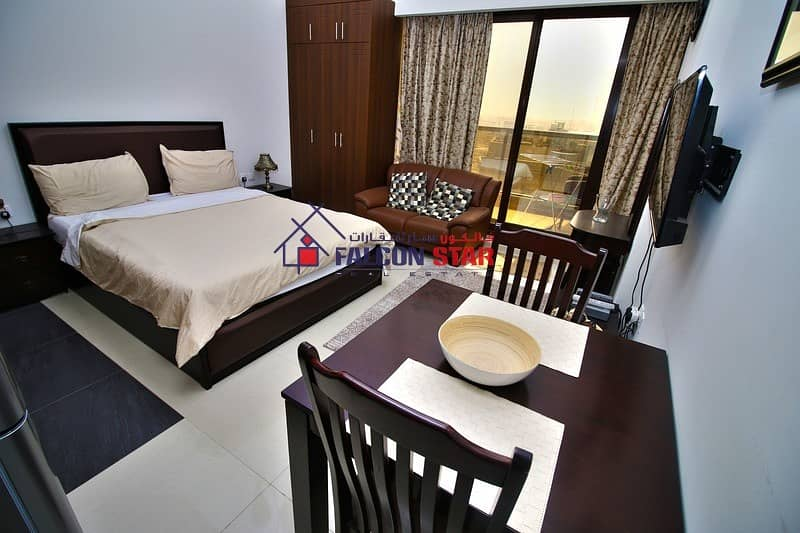 READY TO MOVE - LIVE WITH COMFORT - LUXURY FURNISHED STUDIO