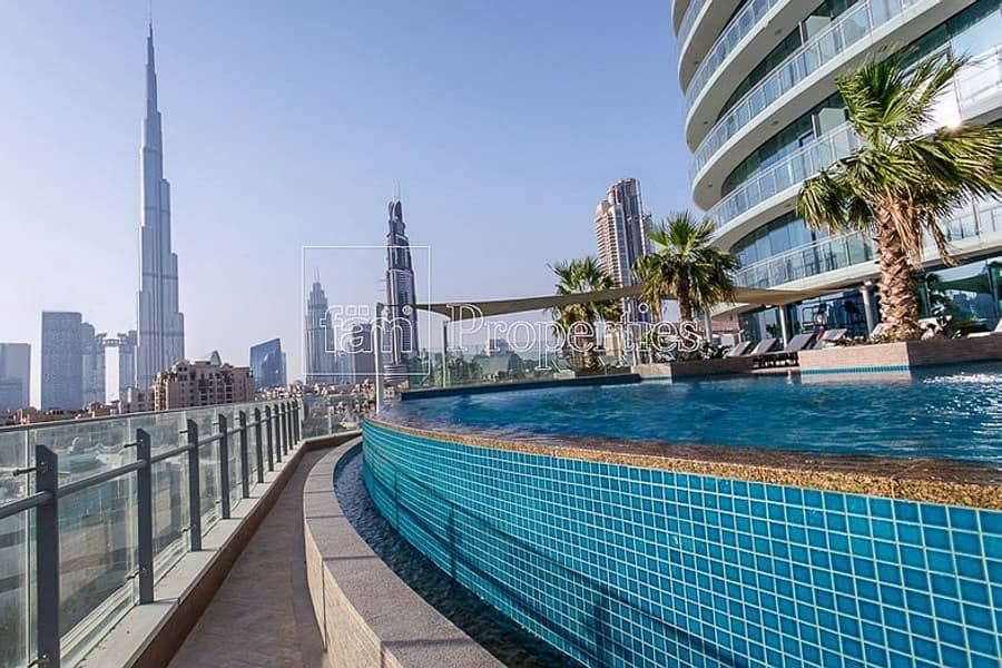 2 2BR Fully Furnished Apartment |Stunning Burj View!