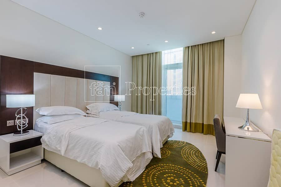 10 2BR Fully Furnished Apartment |Stunning Burj View!