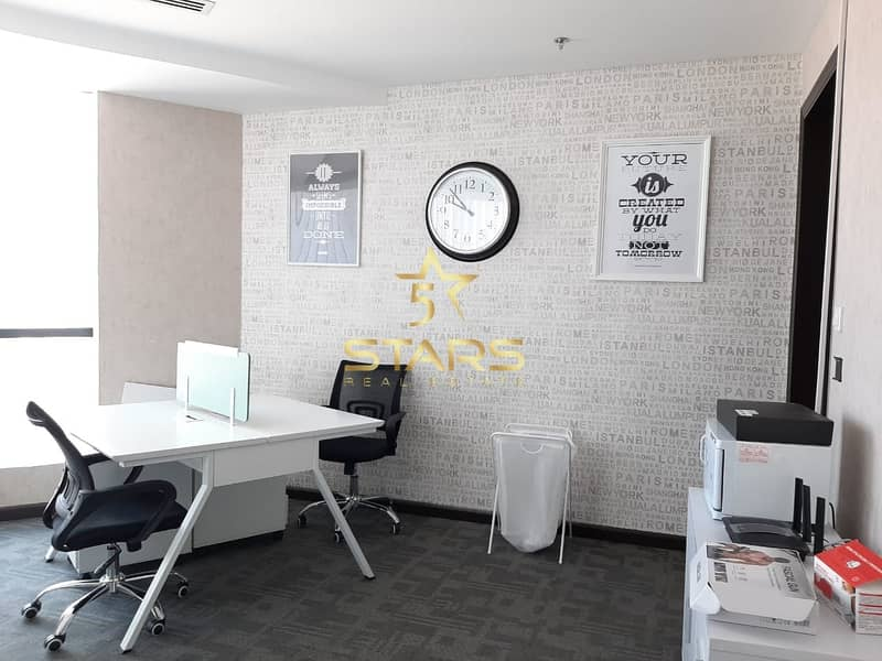 2 Affordable Fully Furnished Office | All Amenities Free | Direct from Owner