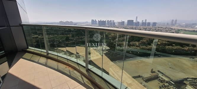 2 Bedroom Flat for Rent in Dubai Sports City, Dubai - Free Chiller | Golf View | Double Balcony | Rent 45k