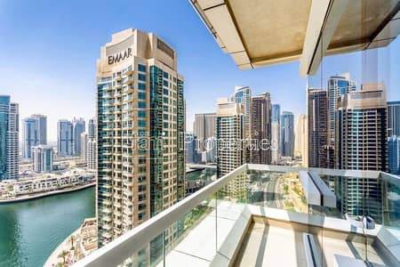 2 Bedroom Apartment for Rent in Dubai Marina, Dubai - Fully Furnished | Bills Included | Sea/Marina View