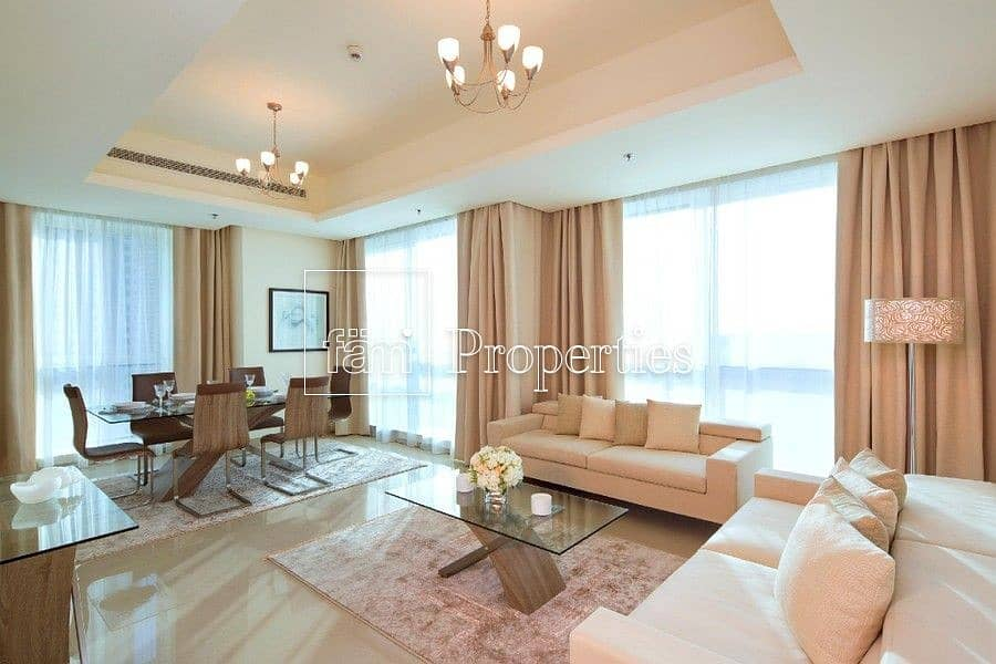 2 Fully Furnished | Bills Included | Sea/Marina View