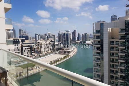 2 Bedroom Apartment for Rent in Business Bay, Dubai - Large 2 Bedroom+Maid's | Beautiful  Lake view