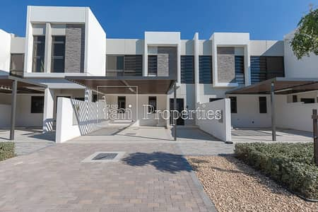 4 Bedroom Townhouse for Sale in Akoya Oxygen, Dubai - Type R2-M1 | TH Facing Pool and Park | 4BR+M