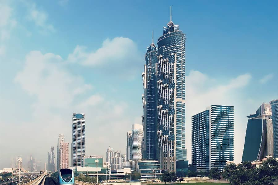 27 Mid Floor | Facing SZR | Canal View
