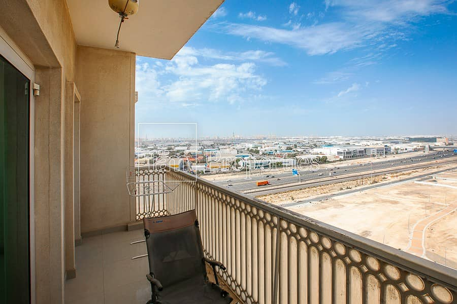 High Floor Corner w/Open View! Suburbia Furnished