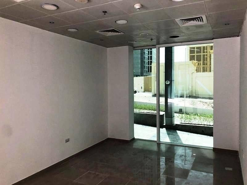 2 1 Month Free| Fully Fitted Shop For Rent| Crystal Tower| Business Bay| Ground Floor