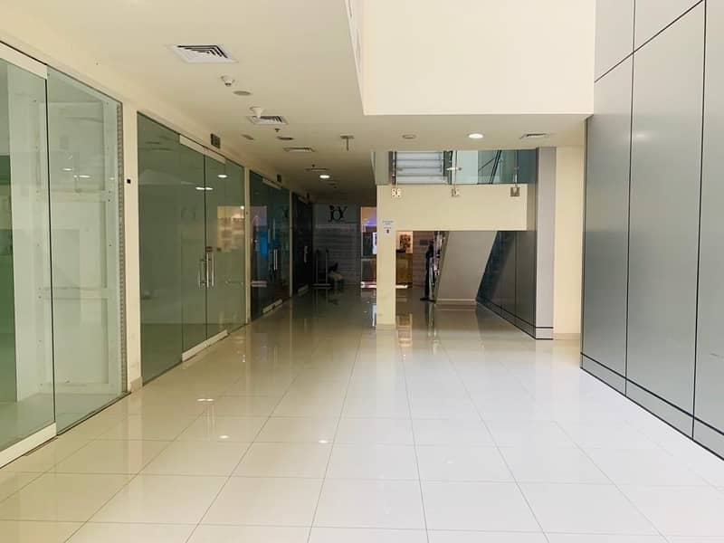 9 1 Month Free| Fully Fitted Shop For Rent| Crystal Tower| Business Bay| Ground Floor