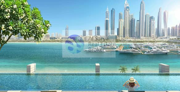 فلیٹ 1 غرفة نوم للبيع في دبي هاربور، دبي - Private Beach Living at EMAAR BeachFront| Get yours NOW!!!