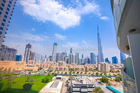 استوديو  للبيع في وسط مدينة دبي، دبي - Burj Khalifa View! Rare Furnished Studio