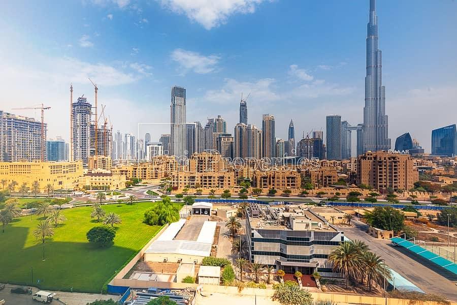 2 Burj Khalifa View! Rare Furnished Studio
