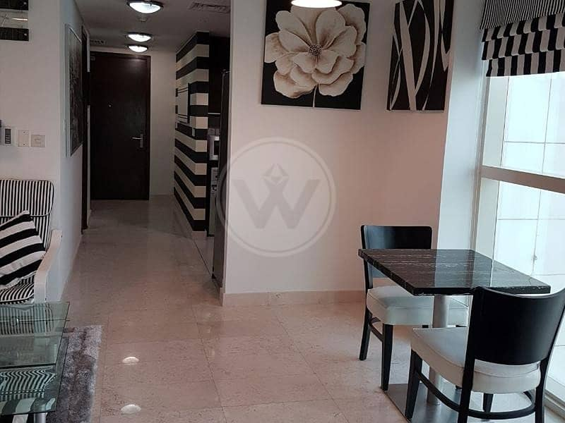 2 Fully furnished apartment on a high floor