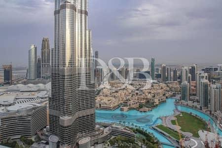 شقة 3 غرف نوم للايجار في وسط مدينة دبي، دبي - Vacant | Burj and Fountain View | High Floor