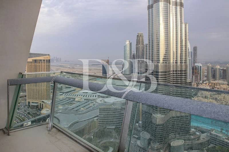 2 Vacant | Burj and Fountain View | High Floor