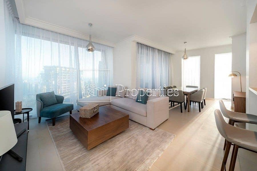 2 Luxury Furnished | 3BR+ Maid | Fantastic Views