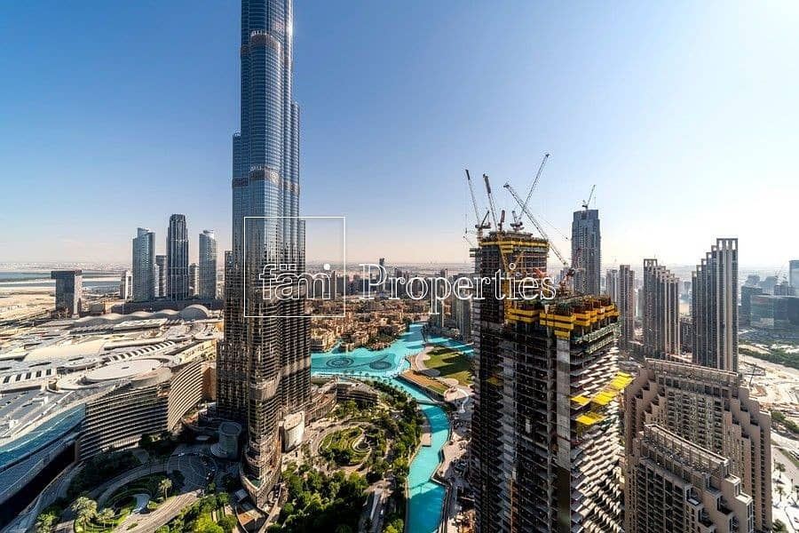 Burj Khalifa View   Spaciuos   Fully Furnished