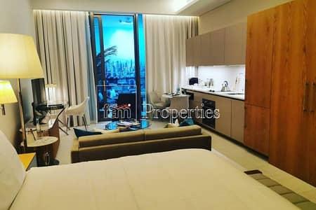 Studio for Sale in Business Bay, Dubai - Delightful Studio | SLS | Skyline view