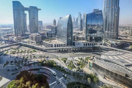 فلیٹ 2 غرفة نوم للايجار في وسط مدينة دبي، دبي - 2BR+Study  Apt. | Opera & Sheikh Zayed View