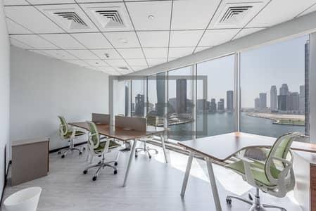 مکتب  للايجار في الخليج التجاري، دبي - Fitted Half Floor | Partitioned | Ready to move in