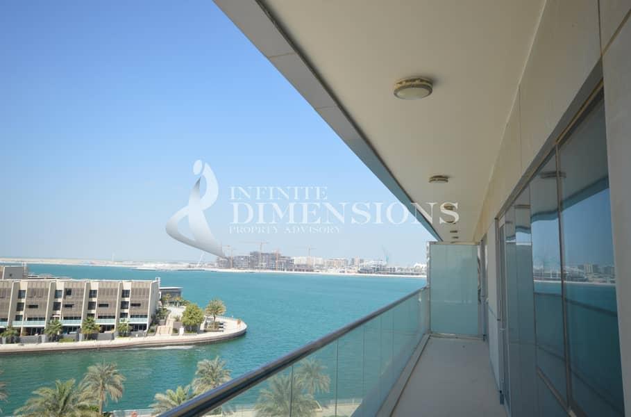 Upscale Brand New 2BR Apartment in Al Raha Beach!!