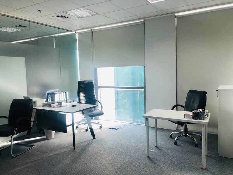 19 Elite Customized office on SZR near Metro at TECOM and AL QUOZ