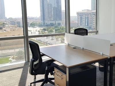 مکتب  للايجار في مركز دبي المالي العالمي، دبي - Road View | Office | Fitted | DIFC