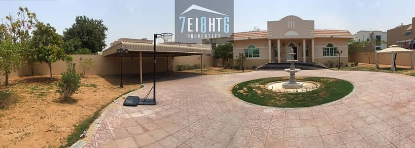 3 Bedroom Villa for Rent in Al Barsha, Dubai - Immaculately presented: 3 b/r excellent quality indep villa + maids room + private s/pool + large garden