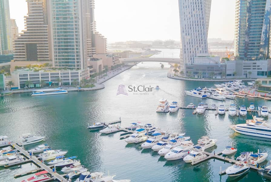 2 Amazing Large 3 Bedroom Available With Full Marina View
