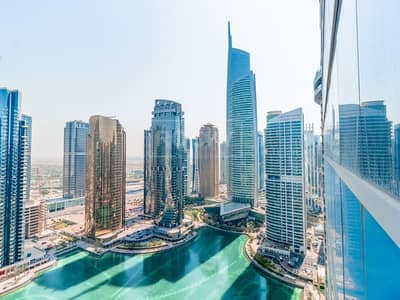 Office for Rent in Jumeirah Lake Towers (JLT), Dubai - Exclusive | Fitted Office | Lake View | DMCC