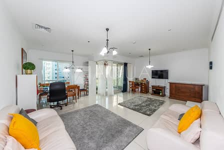 شقة 2 غرفة نوم للايجار في أبراج بحيرات الجميرا، دبي - Furnished Bright and Spacious | Maid's Room