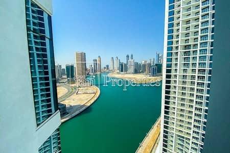 استوديو  للبيع في الخليج التجاري، دبي - Full Canal View! High Floor in Tower B