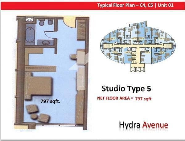 7 Available Soon - Studio For Rent In Hydra Avenue.