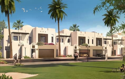 4 Bedroom Townhouse for Sale in Al Bateen, Abu Dhabi - Corner villa with Great finishing for sale.