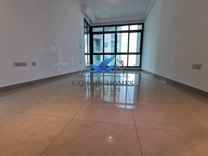 1 Elegant Quality 02 Bedroom Hall Apartment with Facilities Parking Gym and Pool at Danet Abu Dhabi Area