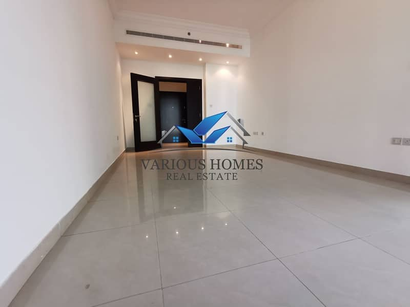 2 Elegant Quality 02 Bedroom Hall Apartment with Facilities Parking Gym and Pool at Danet Abu Dhabi Area