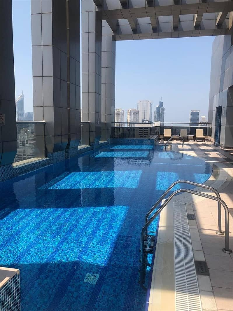 13 2 Bed Apt In A chiller free Building Green Lakes JLT