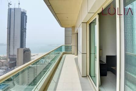 Partial Sea View | 2Bhk Semi furnished w/ Balcony