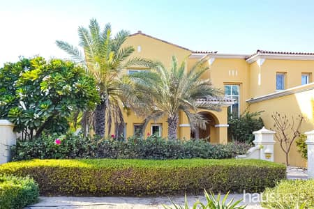 6 Bedroom Villa for Rent in Arabian Ranches, Dubai - Beautiful Type 13 | Private Pool | Course View