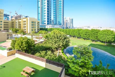 شقة 2 غرفة نوم للايجار في الروضة، دبي - Stunning Garden View | Huge 2 Bed | Al Alka