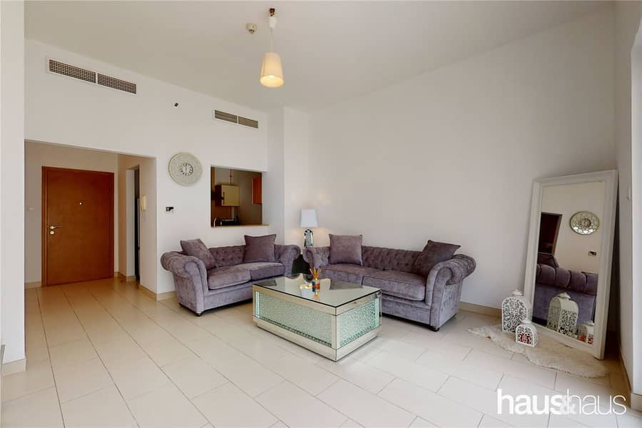 2 Furnished | 1 bed Plus Study | Pool view