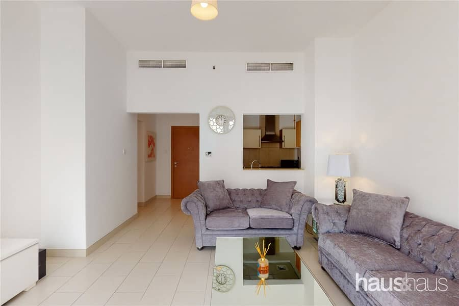 10 Furnished | 1 bed Plus Study | Pool view