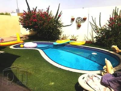 تاون هاوس 2 غرفة نوم للبيع في الينابيع، دبي - Exclusive Upgraded | Private Pool | 4E