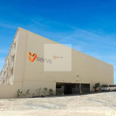 Labour Camp for Rent in Jebel Ali, Dubai - AED 1680 All Inclusive Full Floor - Separate Kitchen