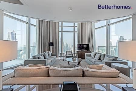 بنتهاوس 5 غرف نوم للبيع في وسط مدينة دبي، دبي - Penthouse|Burj Khalifa and Fountain Views