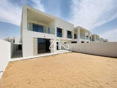 تاون هاوس 3 غرف نوم للبيع في جزيرة ياس، أبوظبي - Corner Single Row 3 BR Type EB Handover Soon Precinct 3