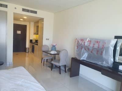 Studio for Rent in Dubai World Central, Dubai - furnished studio for rent in Tenora only in 22k