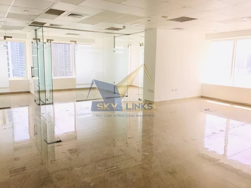 Bright | Part Furnished |GLASS Partitions