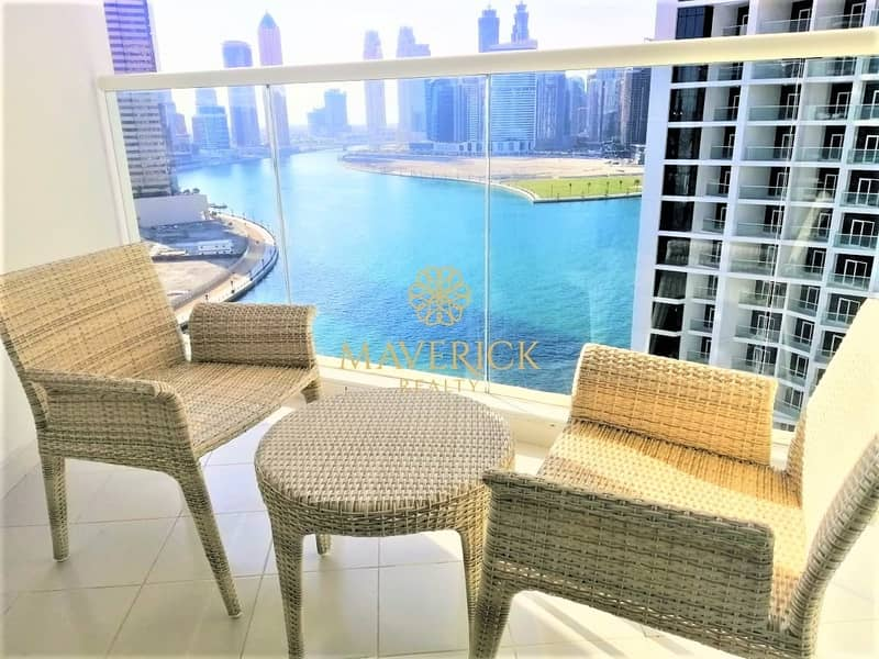 Full Canal View | Brand New | Furnished Studio