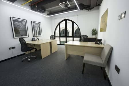 Office for Rent in Old Town, Dubai - Burj Khalifa View Office Space Available For Rent...>